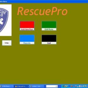 RescuePro-Main Menu